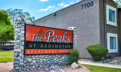 Community Signage, Peaks at Redington, 2