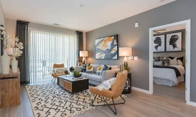 Living Room, Holly Springs Place, 2