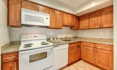 Kitchen, Fayette Arms, 1