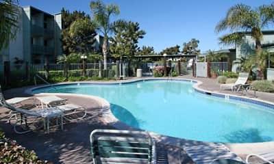 Pool, Cedar Shores Apartments, 0