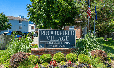Community Signage, Brookfield Village Apartments, 0