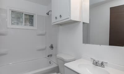 Bathroom, Downtown Town Homes, 1
