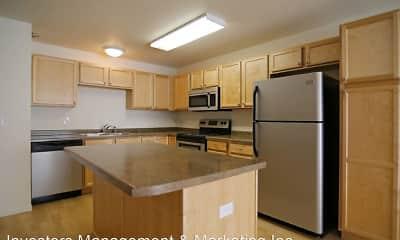 Kitchen, Collins Place Apartments, 1