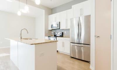 Kitchen, Boulder Apartments, 1