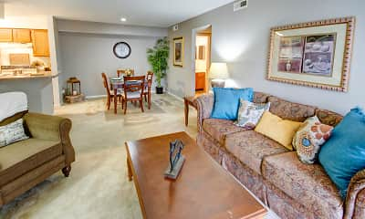 Living Room, Hunt Club of Ft. Wayne, 0