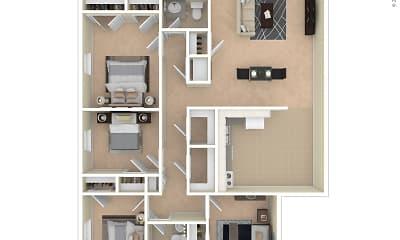 Laketree Manor Apartments, 2