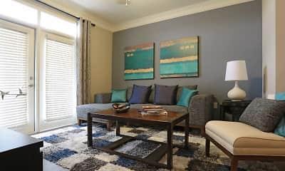 Living Room, Grand Oak At Town Park, 1
