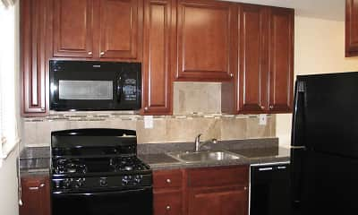 Kitchen, Yorkewood Apartments, 0