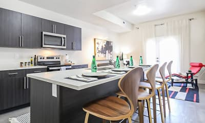 Kitchen, Lehi Tech Apartments, 0