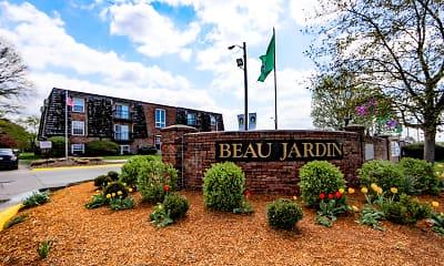 Community Signage, Beau Jardin, 1