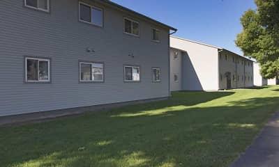 Building, Harrison Apartments, 2