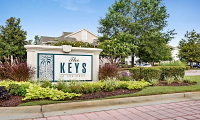 Community Signage, The Keys at 17th Street, 0