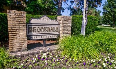 Community Signage, Brookdale Apartments, 2