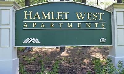 Community Signage, Hamlet West, 2
