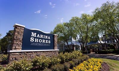 Community Signage, Marina Shores, 0