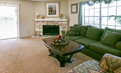 Living Room, Lincoln Village, 1