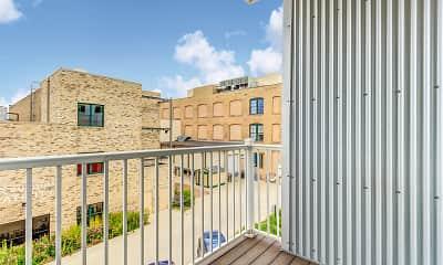 Patio / Deck, 21 Orange Apartments, 2