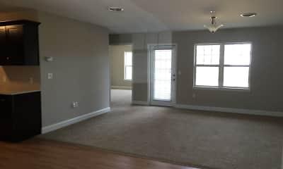 Living Room, Hickory Grove Apartments, 2