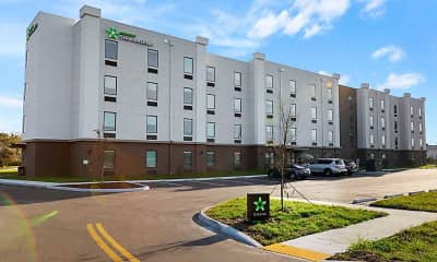 Building, Furnished Studio-Colonial Heights-Fort Lee, 0
