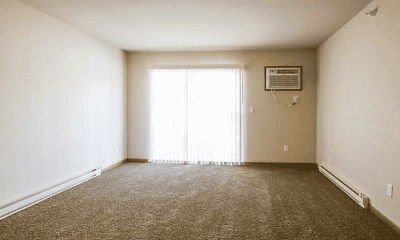 Living Room, Fox Run Apartments, 2