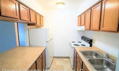 Kitchen, Cedar Place Apartments, 1