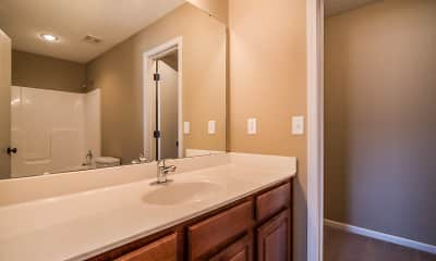 Bathroom, Bennington Park Townhomes, 2