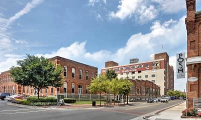Building, West Village, 2