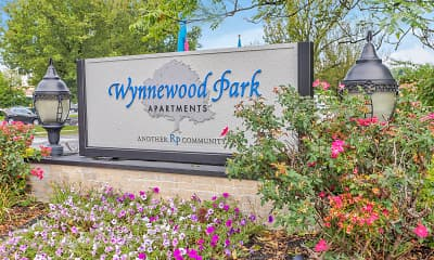 Community Signage, Wynnewood Park Apartments, 2