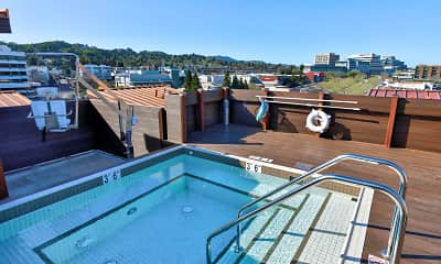 Pool, 1716 Lofts, 1