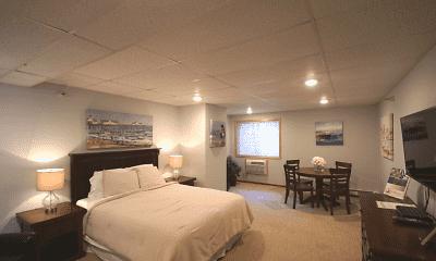 Bedroom, Park Place Apartments, 2