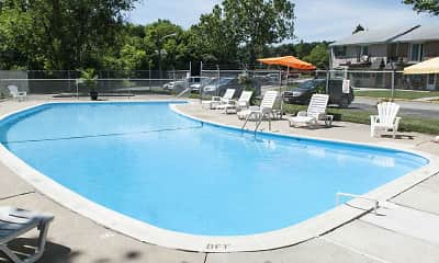 Pool, Jamestown Square Apartments, 2
