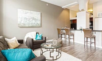 Living Room, Cosmopolitan Apartments, 1