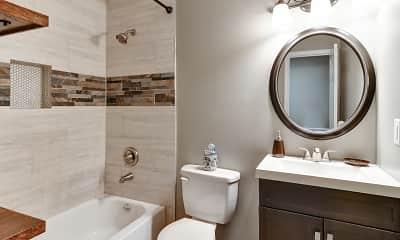 Bathroom, Clifton Ridge Townhomes, 2