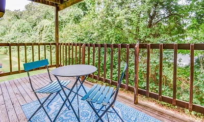 Patio / Deck, Peppertree Apartments, 0