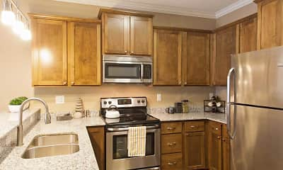 Kitchen, The Flats at Cedar Grove Apartments, 0