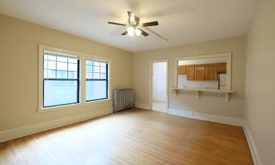 Living Room, Garfield Court, 1
