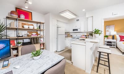 Kitchen, Woodbury Square, 1