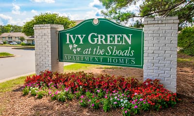 Community Signage, Ivy Green at The Shoals, 2