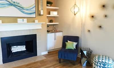 Living Room, The Lake House At Martin's Landing, 2