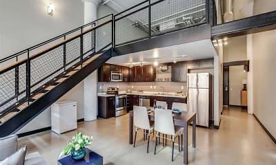 Kitchen, Rayette Lofts, 1