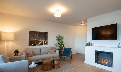 Living Room, Acero Jensen Park, 0