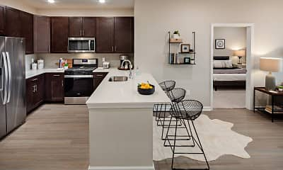 Kitchen, Lofts at Monroe Parke, 1