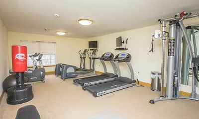 Fitness Weight Room, Lakeside at Briant Park, 1