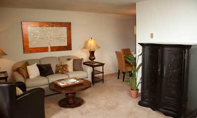 Living Room, Bridlewood Apartments, 1