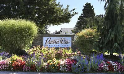 Community Signage, Prairie View Apartment Homes, 1