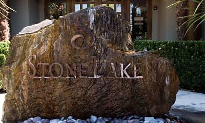 Community Signage, StoneLake Apartments, 2