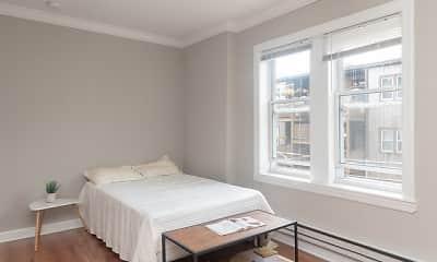 Bedroom, 1135 W. Pratt, 2