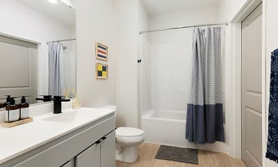 Bathroom, Beyond Apartments, 2