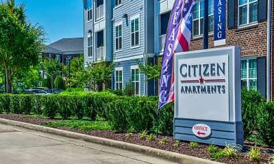 Community Signage, Citizen, 2