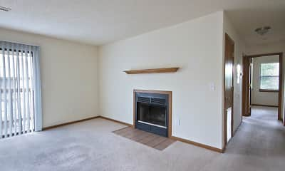 Living Room, Polo Club Apartments & Townhomes, 0